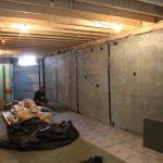 Cellars begin to take shape
